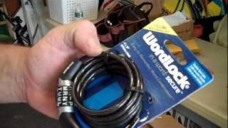 WORDLOCK's #1 Selling Combo Bike Lock Uses A Pre-Set Word