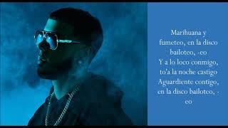 Whine Up - Nicky Jam & Anuel AA - (Lyrics)