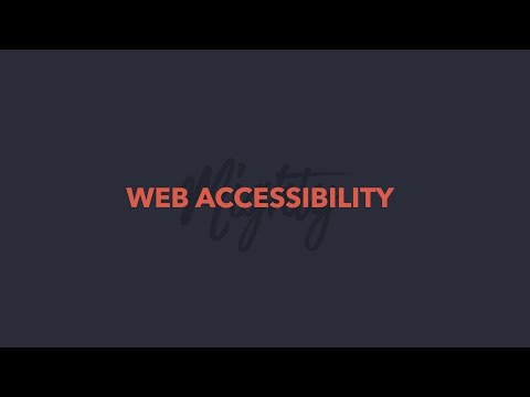 Web Accessibility Training   Hope College - YouTube