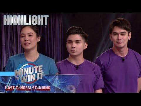Tandem players, may mga kwento tungkol sa kanilang scary experiences | Minute To Win It