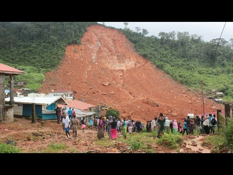 Mudslide kills more than 200 in Sierra Leone