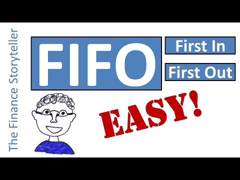 First In First Out (FIFO) inventory method