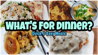 What's For Dinner? Real Life Meal Ideas | Budget Friendly Dinners