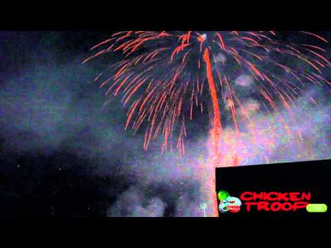 Fuegos artificiales - Fiesta Mayor de Mollet del Vallés 2012