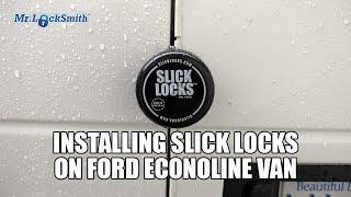 Slick Locks on Ford Econoline Van | Mr Locksmith Video