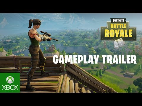 Fortnite Battle Royale - Gameplay Trailer (Play Free Now)