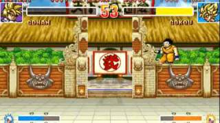 The most challenging fighting game I've ever played (Dragon Ball Z 2: Super Battle)