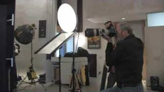 'I bounce' photo lesson 6: Greg Gorman shoots Matt at his LA Studio