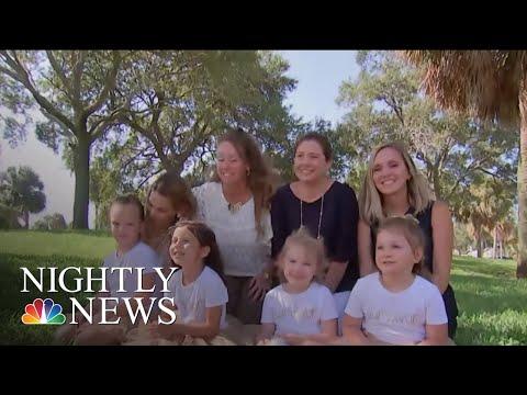 Four Girls Fight Through Cancer With Friendship   NBC Nightly News