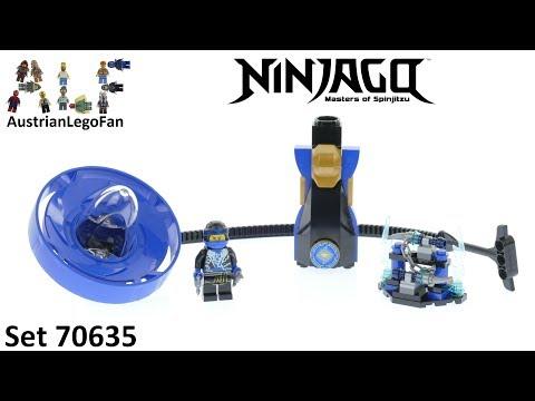 Vidéo LEGO Ninjago 70635 : Jay - Maître du Spinjitzu