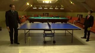 Ping Pong Battle. Radodar TV. 20.12.17