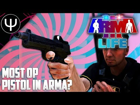 ARMA 3: Life Mod — Most OVERPOWERED Pistol in ARMA 3?!