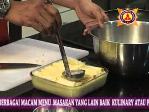 video cara membuat bread & butter pudding-info dvd tutorial hub 031-8433224-5