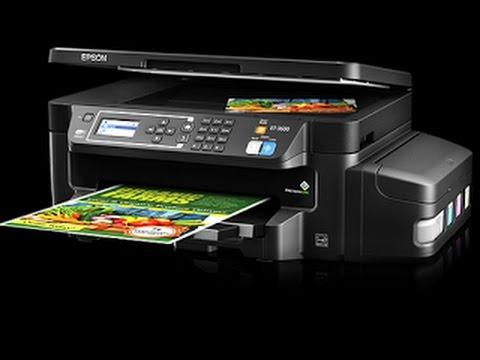 Epson ET-3600 EcoTank Printer Review