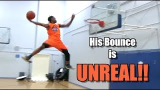 5'10 Guy Oliver Has ALIEN Bounce! Sick Dunk Mix!