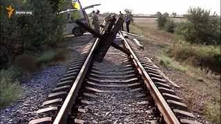 Железнодорожный путь к крымскому заводу «Титан» блокирован