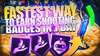 Do This To UNLOCK ALL Of Your Shooting Badges In 1 DAY On NBA 2K20