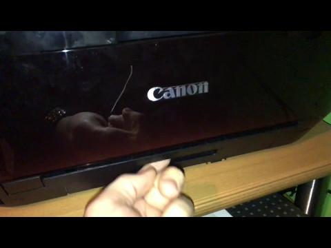 Canon Pixma MX925 Multifunktionsdrucker Papier nachfüllen und Papierkassette einstellen Anleitung