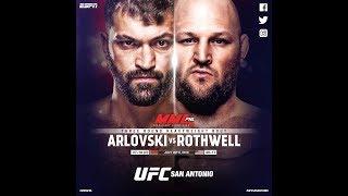 EA Sports UFC 3 Бен Ротвелл - Андрей Орловский