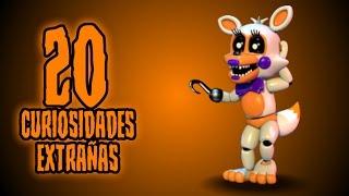 TOP: 20 CURIOSIDADES EXTRAÑAS DE LOLBIT EN FNAF SISTER LOCATION CUSTOM NIGHT
