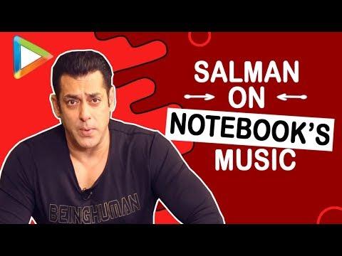 """Vishal Mishra has an INCREDIBLE sense of composition"":Salman Khan | Notebook | Zaheer | Pranutan"