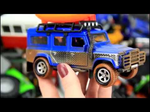 A lot of cars toys for kids. Toy Videos for Children.