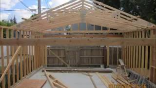 Build a garage in 1 day gecko projects a do it by yourself garage construction movie diby solutioingenieria Choice Image