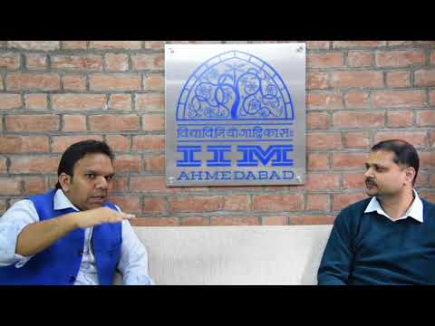 Mr. Srijan Pal Singh, PGP-09 in conversation with Mr. Anurag Choudhury,Head-Alumni and External Partnerships