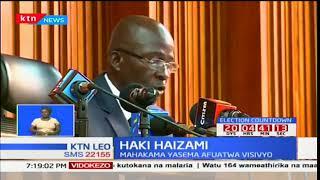 Mahakama kuu Mombasa imeamuru kuhuru kesi ya Gavana Hassan Joho