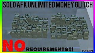 GTA Online *INSANE* Solo AFK Unlimited Money Glitch | Solo AFK Unlimited Money Glitch [PS4,X1, PC]