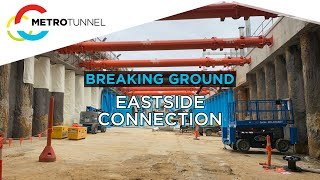 Breaking Ground: Eastern tunnel entrance breakthrough
