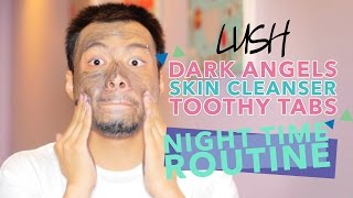Dark Angels Cleanser + Night Time Routine | J Daily
