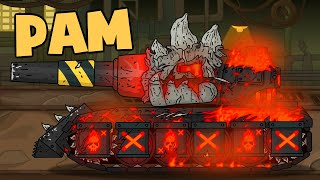 Mimik's gladiator battle: Ram vs Garbageman. Cartoons about tanks