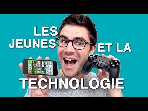 Les jeunes et la technologie