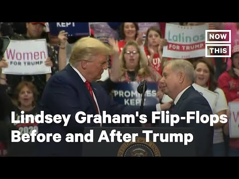 Lindsey Graham's Flip-Flops Before and After Donald Trump | NowThis