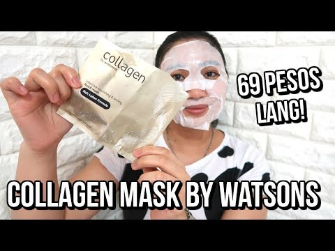 COLLAGEN MASK BY WATSON FIRST IMPRESSION REVIEW!