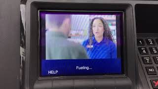 Speedway gas station advertising