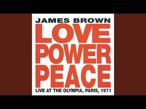 Super Bad (Live At The Olympia, Paris / 1971) online metal music video by JAMES BROWN
