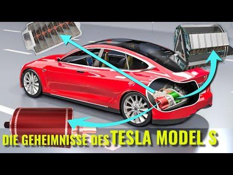 Wie funktioniert ein Elektroauto ?   Tesla Model S