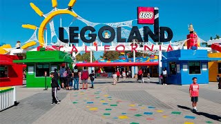 [HD] LEGOLAND California 2020 -  Rides, attractions and atmosphere in Carlsbad, CA