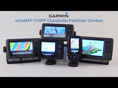 Garmin echoMAP CHIRP Chartplotter/Fishfinder Combos - West Marine Quick Look