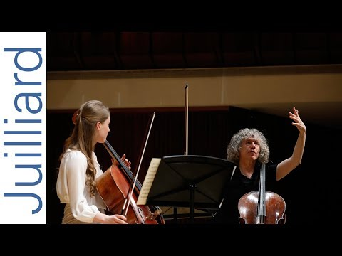 Masterclass with Steven Isserlis