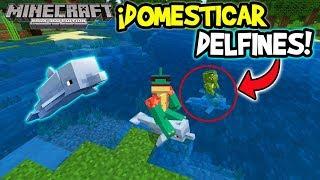 10 Secretos De Los DELFINES - Actualización Acuatica Minecraft Xbox 360/ONE/PS3/PS4/Wii u