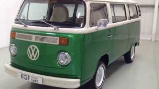 preview picture of video 'A Fabulous Bay Window T2 VW Camper Van Painstakingly Created for Splendid Fun Outings - SOLD!'