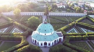 preview picture of video 'Květná zahrada Kroměříž - DJI P2 Zenmuse H3-3D'