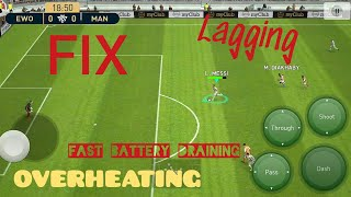 FIX LAGGING, OVERHEATING & FAST BATTERY DRAINING - PES 2019 MOBILE