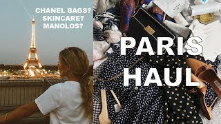 PARIS HAUL !! Vintage Chanel, Manolos, French Skincare