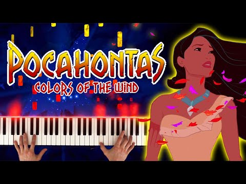 Pocahontas - Colors of the Wind (Piano Cover)