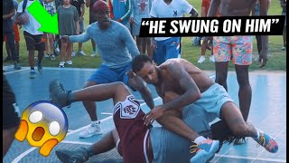Trash Talker Threw PUNCHES & It Got Physical! Ballislife South Takeover Got HEATED!