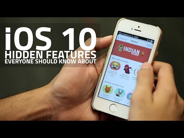 iOS 10 Hidden Features Everyone Should Know About | NDTV Gadgets360 com